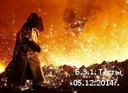 Б.3.1(05.12.2014г) Литейное производство черных и цветных металлов