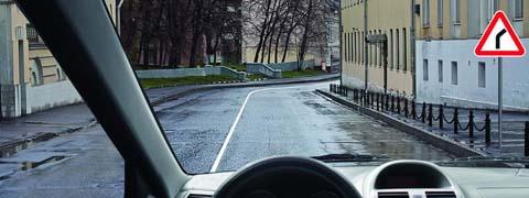 <p>Обязаны ли Вы в данной ситуации подать сигнал правого поворота?</p>