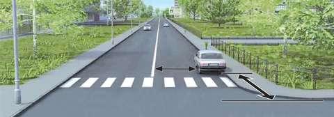 В каком случае водителю разрешается поставить автомобиль на стоянку в указанном месте?